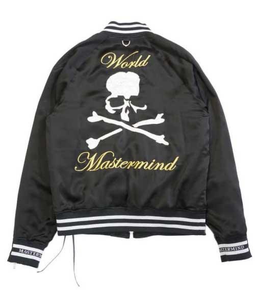Silk Bomber Jacket 画像