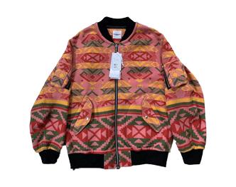 ソロイスト blanket flight jacket 19aw 画像