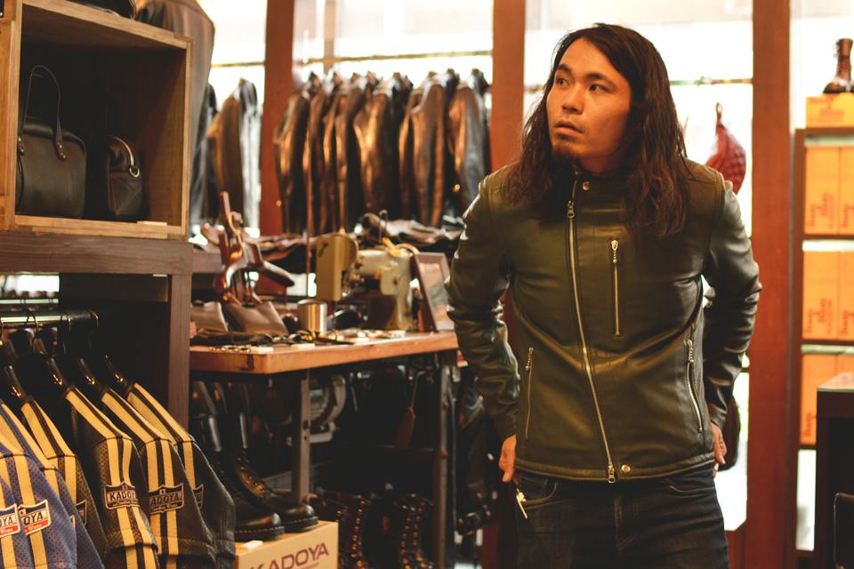 カドヤ レザージャケットの代表モデル④ 画像