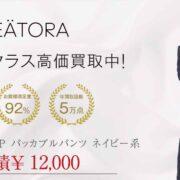 テアトラ tt-003FL-P パッカブル パンツ ネイビー系 画像