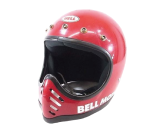MOTO3 初期型 ヘルメット7 1/8-57 赤画像