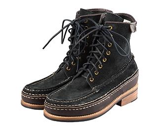 ビズビム(visvim) ブーツ 18AW GRIZZLY BOOTS HI-FOLK BISON 画像