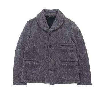 SHAWL COLLAR COVERALL ジャケット画像