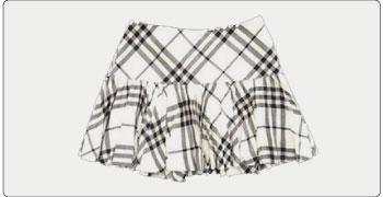 バーバリー ブルーレーベル スカート 画像