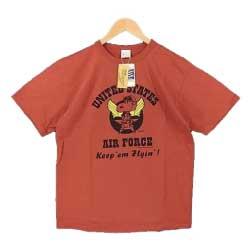 バズリクソンズ BR77814 UNITED STATESAIR FORCE Tシャツ レッド系画像