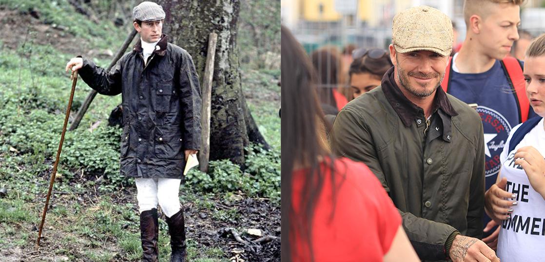 バブアー(Barbour)コートを愛用している有名人 画像