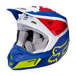 シュプリーム コラボモデル 18SS ×Fox Racing V2 Helmet 画像