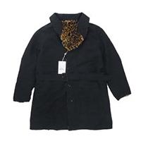 エンジニアドガーメンツ Shawl Collar Reversible Coat Fur レオパード 18AW 画像