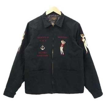 グラッドハンド 刺繍 ドリズラー スウィングトップ ジャケット 画像