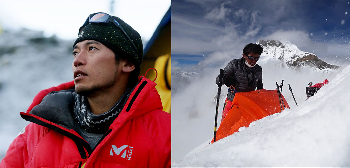 ミレー 登山家の使用 画像