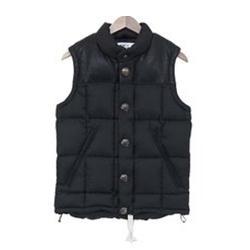 マウンテンリサーチ コンチョ ボタン ホース レザー Vest with Concho Buttons MTR-1523 ベスト 画像