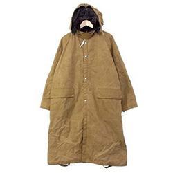 マウンテンリサーチ Long Coat ダスター パラフィン コットン 裏地 チェック MTR-2051 画像