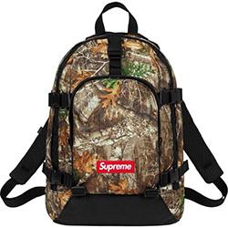 シュプリーム 新作モデル 19AW Real Tree Backpack 画像