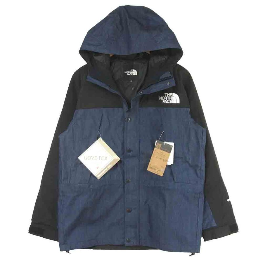 ノースフェイス マウンテンジャケット NP12032 Mountain Light Denim Jacket マウンテン ライト デニム ジャケット M 画像