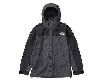 ノースフェイス 新作 NP12032 マウンテンライト デニム ジャケット BD ブラックデニム 画像