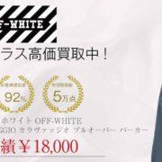 オフホワイト OFF-WHITE HARDCORE CARAVAGGIO OVER HOODIE プルオーバー パーカー 画像