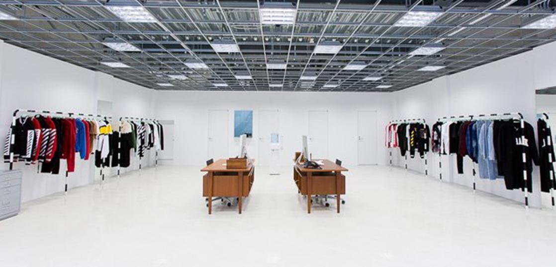 オフホワイト 日本での店舗展開 画像