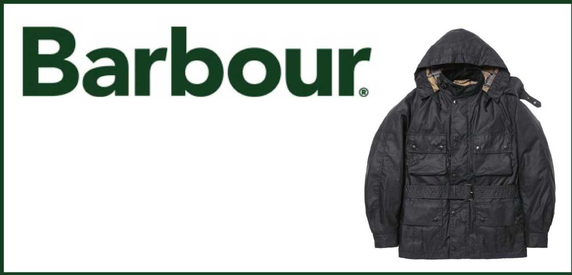 バブアー オイルドジャケット 代表モデル画像