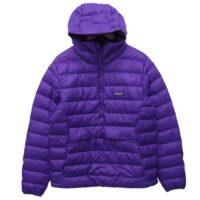 パタゴニア 20~21新作  20AW 84635 Down Sweater Hoody Pullover Purple ダウン セーター フーディー プルオーバー パープル M 画像