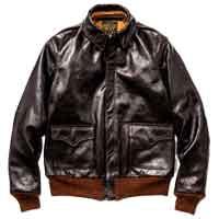 リアルマッコイズ レザージャケット MJ18101 TYPE A-2 画像