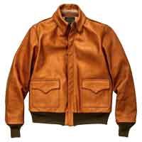 リアルマッコイズ レザージャケット MJ11103 TYPE A-2 RAW SIENNA 画像