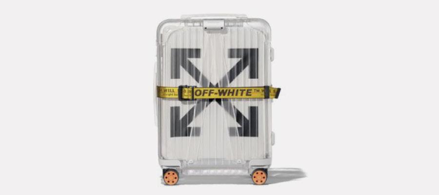 リモワ オフホワイト スーツケース買取画像