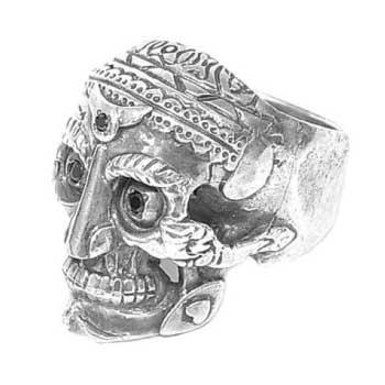 Magical Design Rude Gallary ルードギャラリー TIBETAN MONK SKULL RING スカル リング 画像