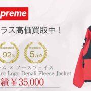 シュプリーム × ノースフェイス 19SS NA119031 Arc Logo Denali Fleece Jacket 画像