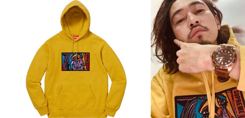 18AW Chainstitch Hooded Sweatshirt