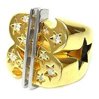 テンダーロイン T-$ RING ダラーリング 19号 ゴールド&ダイヤ 画像