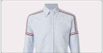 トムブラウン シャツ ポロシャツ 画像