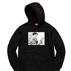 シュプリーム トップス 17SS AKIRA Arm Hooded Sweatshirt 画像