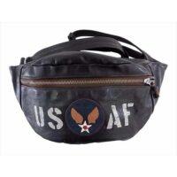 トイズマッコイ バッグ USAF DUAL BLADE ホースハイド デュアルブレード レザー バッグ ブラウン系 画像