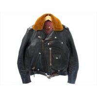 トイズマッコイ レザージャケット TMJ1341 JOHNNY ROCKER JACKET ジョニーロッカー ホースハイド ライダースジャケット ブラック系 40 画像