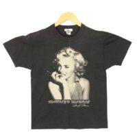 トイズマッコイ トップス マッヒル マリリン モンロー プリント Tシャツ グレー系 S 画像