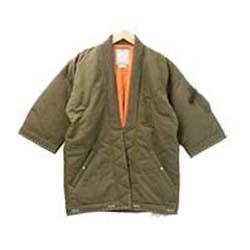 ビズビム(VISVIM) コート 17AW 0117205013003 SANJURO KIMONO DOWN JACKET 画像