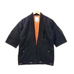 ビズビム(VISVIM) コート SANJURO KIMONO DOWN JACKET 0117205013003/17AW 画像