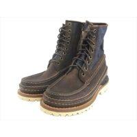 VISVIM ブーツ GRIZZLY BOOTS MID-FOLK FIL EXCLUSIVE グリズリー ブーツ LT.INDIGO M9 画像