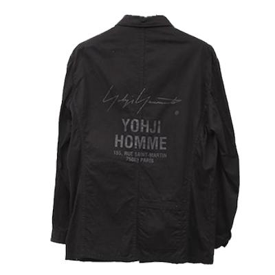 ヨウジヤマモト シャツジャケット 画像