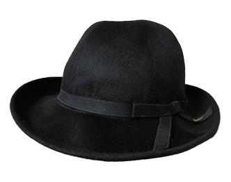 ヨウジヤマモト 帽子 × ボルサリーノ カシミア ハット 画像